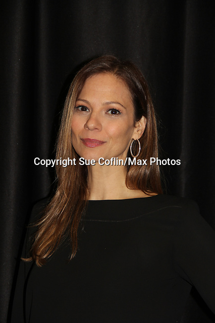 """General Hospital's actor  Tamara Braun """"Kim Nero""""- on October 5, 2019 at the Hollywood Casino, Columbus, Ohio with a Q & A and a VIP meet and greet. (Photo by Sue Coflin/Max Photo)"""