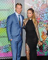 "01 August 2016 - New York, New York - Joel Kinnaman, Cleo Wattenstrom. ""Suicide Squad"" World Premiere. Photo Credit: Mario Santoro/AdMedia"