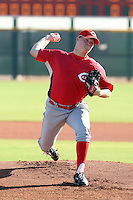Harold Johnson - Cincinnati Reds, 2009 Instructional League.Photo by:  Bill Mitchell/Four Seam Images..