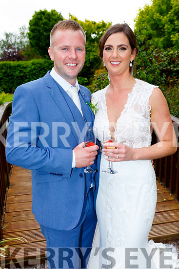Fiona Treacy, daughter of Joe and Mary, Tullamore, Co. Offaly, and Padraig Tobin, son of Pat and Eileen, Ballinorig Close, Tralee, who were married on Friday in St John's Church, Tralee. Fr Kieran O'Brien officiated at the ceremony. Best man was Michael Tobin and groomsmen were Dermot Raggett and Barry Leahy. Bridesmaids were Ciara Dunne with Gillian Mullins and Anne Marie Treacy. Flowergirl was Faye Moloney. Pageboys were Tristan Foley and Kyle Moloney. The reception was held in the Ballygarry House Hotel & Spa and the couple will reside in Tralee.