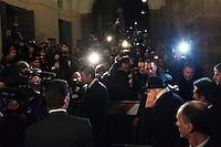 Milano: Il Presidente della Repubblica arriva al Teatro alla Scala per seguire la prima alla Scala con il Don Giovanni.