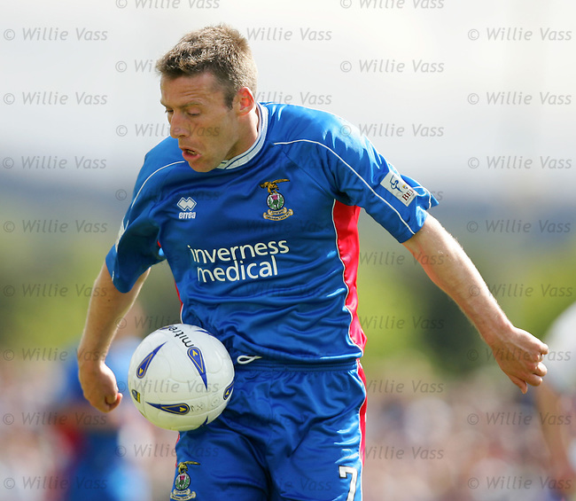 Barry Wilson, Inverness Caley Thistle.stock season 2003-2004.pic willie vass