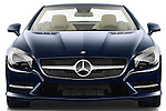 Straight front view of a 2013 Mercedes SL Class