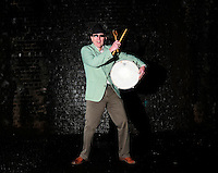 Cosmic Ray and the Constellations<br /> Photo shoot<br /> Manchester<br /> <br /> John Maltby - Drums