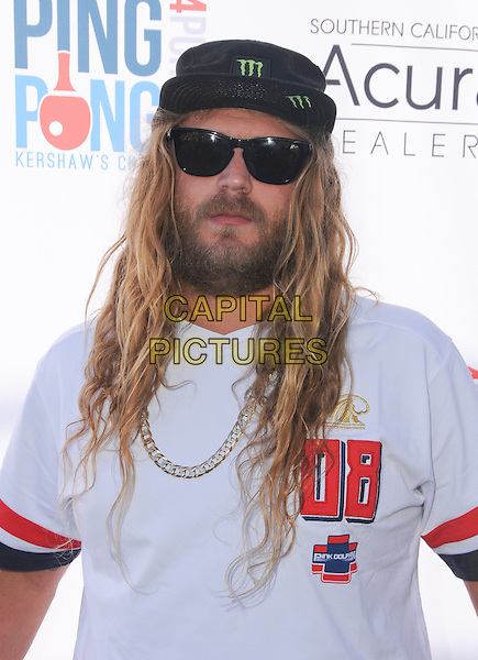 11 August 2016 - Los Angeles, California. Luke &quot;The Dingo&quot; Trembath. Clayton Kershaw's 4th Annual Ping Pong 4 Purpose Celebrity Tournament held at Dodger Stadium. <br /> CAP/ADM/BT<br /> &copy;BT/ADM/Capital Pictures