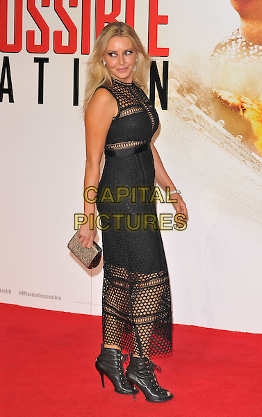 LONDON, ENGLAND - JULY 25: Carol Vorderman attends the &quot;Mission: Impossible - Rogue Nation&quot; exclusive film screening, BFI Imax, Charlie Chaplin Walk, on Saturday July 25, 2015 in London, England, UK.<br /> CAP/CAN<br /> &copy;Can Nguyen/Capital Pictures
