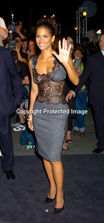 Halle Berry in Dolce and Gabbana ..at a Party at Bendels for Catwomen on July 21, 2004 ..Photo by Robin Platzer, Twin Images