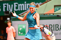 Petra Kvitova during Day 2 of the French Open 2018 on May 28, 2018 in Paris, France. (Photo by Dave Winter/Icon Sport)