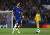 12th September 2017, Stamford Bridge, London, England; UEFA Champions League Group stage, Chelsea versus Qarabag FK; Davide Zappacosta of Chelsea in action