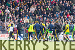 Kerry in action against  Donegal in Division One of the National Football League at Austin Stack Park Tralee on Sunday.