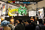 """Visitors gather at the Anime Japan 2015 on March 21, 2015 in Tokyo, Japan. Anime Japan 2015 brings together all aspects of the """"anime"""" industry offering an opportunity for visitors get close to creators, voice actors, idol groups, and cosplayers, and to learn about the industry. This is the second year that the exhibition is being held at Tokyo Big Sight. Organizers estimated that approximately 100,000 visitors attended in 2014 and similar huge numbers are expected this year. The exhibition is open on March 21st and 22nd. (Photo by Rodrigo Reyes Marin/AFLO)"""