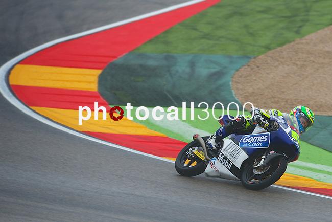 Gran Premio Movistar de Aragón<br /> during the moto world championship in Motorland Circuit, Aragón<br /> Race Moto3<br /> eric granado<br /> PHOTOCALL3000