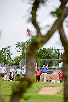 Jonathan Randolph (USA) watches his tee shot on 10 during round 1 of the Valero Texas Open, AT&amp;T Oaks Course, TPC San Antonio, San Antonio, Texas, USA. 4/20/2017.<br /> Picture: Golffile | Ken Murray<br /> <br /> <br /> All photo usage must carry mandatory copyright credit (&copy; Golffile | Ken Murray)