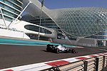 04.12.2019, Yas Marina Circuit, Abu Dhabi, Formel 1 Testfahrten Abu Dhabi 2019<br />, im Bild<br />George Russel (GBR#63), Mercedes-AMG Petronas Motorsport<br /> <br /> Foto © nordphoto / Bratic