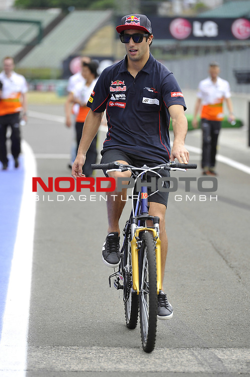 Daniel Ricciardo (AUS) Scuderia Toro Rosso <br />  Foto &copy; nph / Mathis
