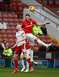 Conor Sammon of Sheffield Utd looses out in the air - English League One - Sheffield Utd vs Coventry City - Bramall Lane Stadium - Sheffield - England - 13th December 2015 - Pic Simon Bellis/Sportimage-