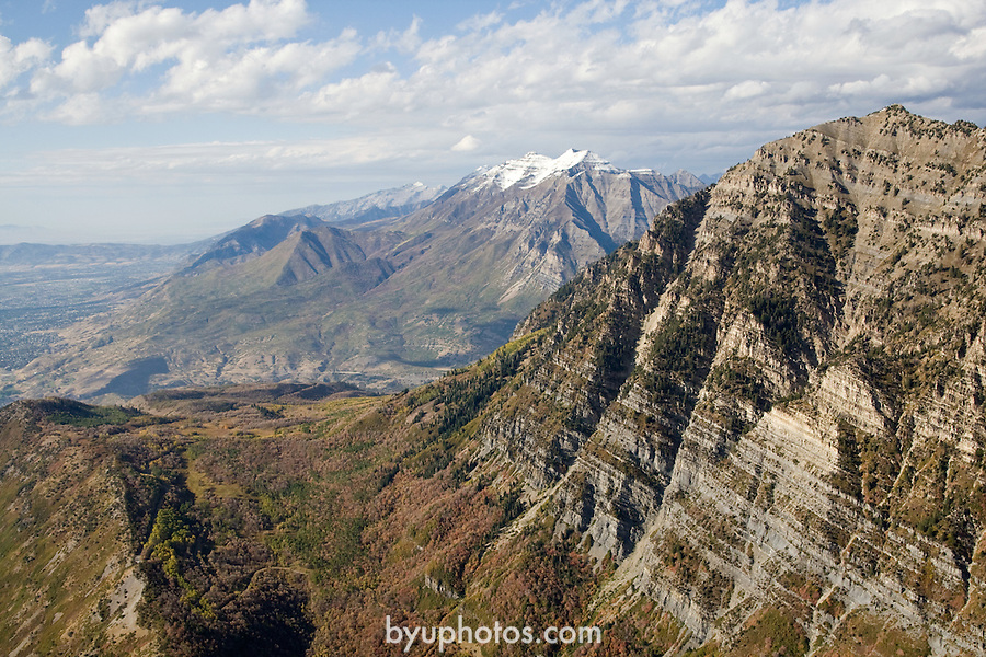 Aerials of Mountains surrounding BYU.Mt Timpanogos.October 9, 2008..Photography by Mark A. Philbrick..Copyright BYU Photo 2008.All Rights Reserved .photo@byu.edu  (801)422-7322