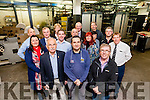The members of the Killarney Chapter of BNI Business Network on a visit to Kerry's Eye Newspaper headquarters in Tralee.<br /> Front L to R:  Donie Moynihan, John Mc Elligott, Dan O Donoghue.<br /> Middle Row : Mary B Teahon Brian Looby, Emer Parkinson &amp; Sean O Keeffe.<br /> Back Row : Brendan Kennelly, Richard Walsh, Tom Moore, John Mc Enery, Liam Mc Guire Tara Collins, Padraig Kennelly and Donal O Sullivan<br /> --