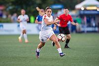 Boston, MA - Friday August 04, 2017: Lo'eau Labonta during a regular season National Women's Soccer League (NWSL) match between the Boston Breakers and FC Kansas City at Jordan Field.
