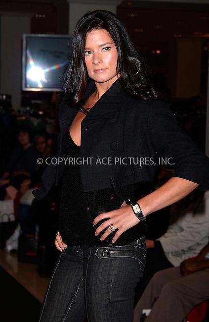 WWW.ACEPIXS.COM . . . . .....October 24, 2007. New York City.....IndyCar driver Danica Patrick launches the Tissot Watch Holiday Collection at Macy's Herald Square...  ....Please byline: Kristin Callahan - ACEPIXS.COM..... *** ***..Ace Pictures, Inc:  ..Philip Vaughan (646) 769 0430..e-mail: info@acepixs.com..web: http://www.acepixs.com