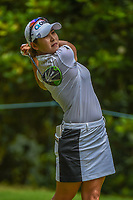 Jihyun Kim (KOR) watches her tee shot on 3 during round 4 of the U.S. Women's Open Championship, Shoal Creek Country Club, at Birmingham, Alabama, USA. 6/3/2018.<br /> Picture: Golffile | Ken Murray<br /> <br /> All photo usage must carry mandatory copyright credit (&copy; Golffile | Ken Murray)