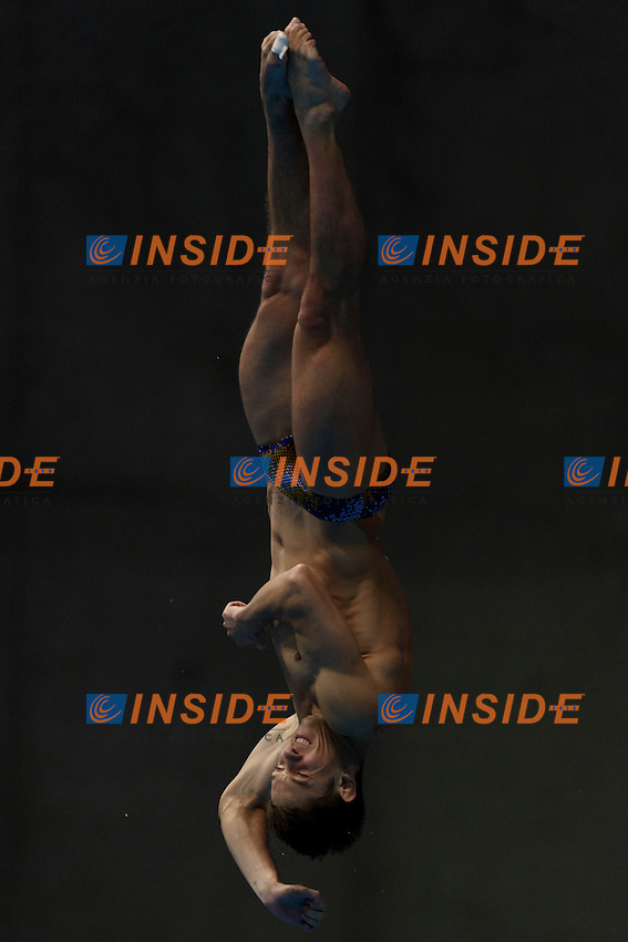 Illia KVASHA UKR Ukraine Bronze Medal <br /> Men's 3m Springboard Final <br /> London, Queen Elizabeth II Olympic Park Pool <br /> LEN 2016 European Aquatics Elite Championships <br /> Diving  <br /> Day 04 12-05-2016<br /> Photo Andrea Staccioli/Deepbluemedia/Insidefoto