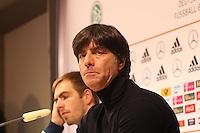 Bundestrainer Joachim Löw (D) - WM Qualifikation 9. Spieltag Deutschland vs. Irland in Köln