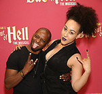 "Tyrick Wiltez Jones and Danielle Steers during Jim Steinman's ""Bat Out of Hell - The Musical"" - Open Rehearsal at New York City Center on July 30, 2019 in New York City."