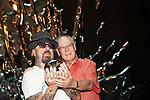 US Screenwriter Bruce Joel Rubin (r) and British musician Dave A. Stewart present 'Ghost. El Musical'. October 01,2019. (ALTERPHOTOS/Acero)