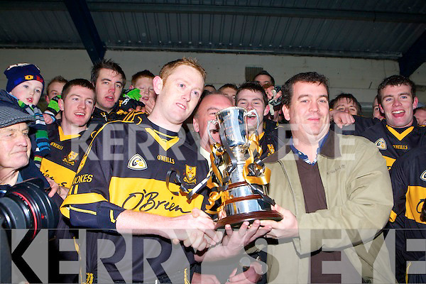 Crokes Captain Colm Cooper  Kilcummin's v Dr.Crokes'in the O'Donoghue Cup Final at Fitzgerald Stadium   Copyright Kerry's Eye 2008
