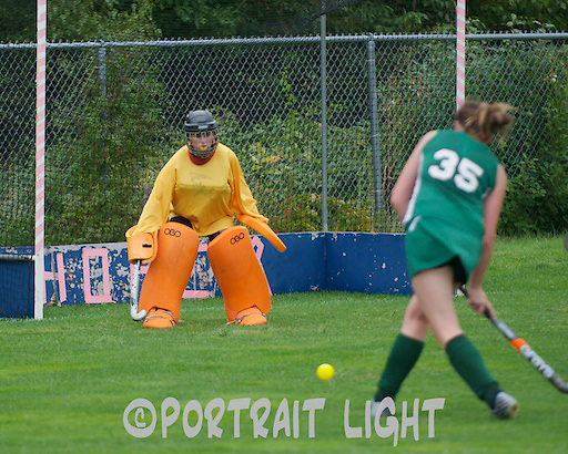 CHS senior goalkeeper Amanda Makela, a captain.