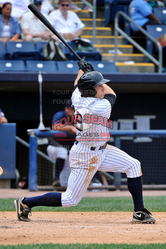 Staten Island Yankees outfielder Cody Grice #48 during a game against the Tri-City  Valley Cats at Richmond County Bank Ballpark at St. George on July 25, 2011 in Staten Island, NY.  Staten Island defeated Tri-City 2-1.  Tomasso DeRosa/Four Seam Images
