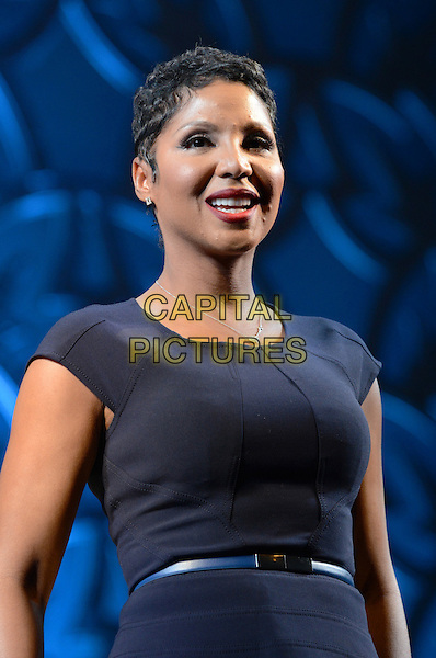 NEW YORK, NY - MARCH 13: Toni Braxton at the press preview announcing Toni Braxton and Kenneth Babyface Edmonds as the newest 'Special Guest Stars' in the theatrical production of After Midnight at the Brooks Atkinson Theatre in New York City on March 13, 2014.  <br /> CAP/MPI/MJ<br /> &copy;Margot Jordan/MediaPunch/Capital Pictures
