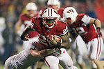 Wisconsin Badgers running back Montee Ball (28) carries the ball during an NCAA Big Ten Conference college football game against the Penn State Nittany Lions on November 26, 2011 in Madison, Wisconsin. The Badgers won 45-7. (Photo by David Stluka)