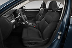 Front seat view of a 2020 Skoda Superb Ambition 5 Door Hatchback front seat car photos