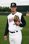 June 17th 2008:  Mark Diapoules of the Quad Cities River Bandits, Class-A affiliate of the St. Louis Cardinals, during the Midwest League All-Star Game at Dow Diamond in Midland, MI.  Photo by:  Mike Janes/Four Seam Images