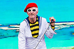 Captain Sensible plays at Rewind Scotland Festival 2013<br /> <br /> Malcolm McCurrach | New Wave Images UK - 27/07/2013