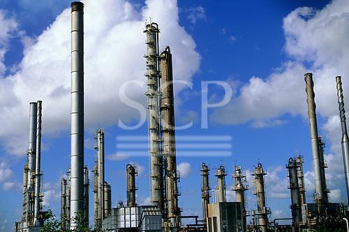 Bahia State, Brazil. Petrobras petrochemical refinery at Camacari.