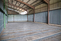 Grain store cleaned and ready for harvest
