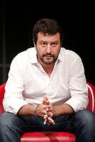 Matteo Salvini<br /> Roma 10/05/2017. Convegno 'Sicurezza, Immigrazione, Periferie: dalla parte dei deboli'<br /> Rome 10th May 2017. Convention of the right wing parties.<br /> Foto Samantha Zucchi Insidefoto