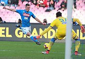 2018 Serie A Football Napoli v Frosinone Dec 8th