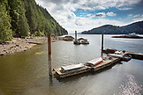 CANADA, Vancouver, British Columbia, Port Graves, Gambier Island in the Howe Sound