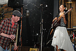 Kaohsiung -- Will & A-Biang having a good time on stage.