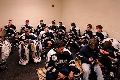 Varsity Ice Hockey, Boys<br /> Rye Country Day School