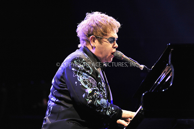 WWW.ACEPIXS.COM . . . . .  ..... . . . . US SALES ONLY . . . . .....January 28 2011, London....Sir Elton John performing at The Royal Opera House on January 28, 2011 in London....Please byline: FAMOUS-ACE PICTURES... . . . .  ....Ace Pictures, Inc:  ..Tel: (212) 243-8787..e-mail: info@acepixs.com..web: http://www.acepixs.com