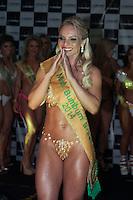 SAO PAULO, SP-17.11.2014 - MISS BUMBUM - A Miss Bumbum  Santa Catarina ,Indianara Carvalho vence o Miss Bumbum 2014 na rua Frei Caneca, na Bela Vista, centro de São Paulo, na noite de ontem (17). Ao todo, 15 candidatas representaram seus estados na escolha do bumbum mais bonito do país. (FOTO: KEVIN DAVID / BRAZIL PHOTO PRESS).
