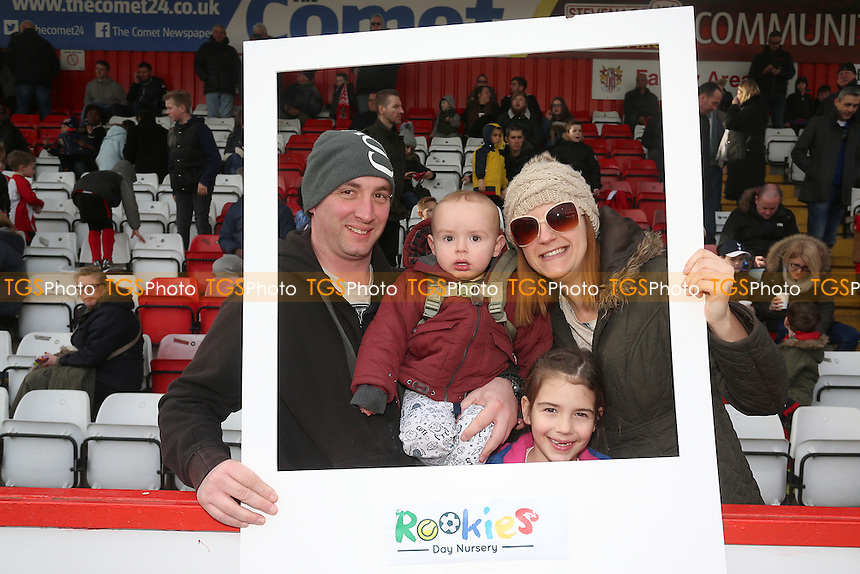 Rookies Day Nursery Group during Stevenage vs Notts County, Sky Bet EFL League 2 Football at the Lamex Stadium on 4th March 2017