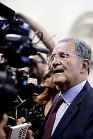Roma, 14 Giugno 2017<br /> Romano Prodi presenta &quot;il Piano inclinato&quot; al Centro studi americani