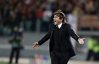 Football Soccer: UEFA Champions League AS Roma vs Chelsea Stadio Olimpico Rome, Italy, October 31, 2017. <br /> during the Uefa Champions League football soccer match between AS Roma and Chelsea at Rome's Olympic stadium, October 31, 2017.<br /> UPDATE IMAGES PRESS/Isabella Bonotto