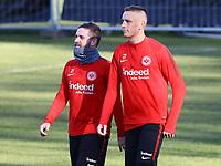 Marc Stendera (Eintracht Frankfurt) und Marius Wolf (Eintracht Frankfurt) - 30.01.2018: Eintracht Frankfurt Training, Commerzbank Arena